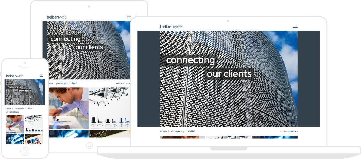 Belben Wells Website by Chris Davies Web Design